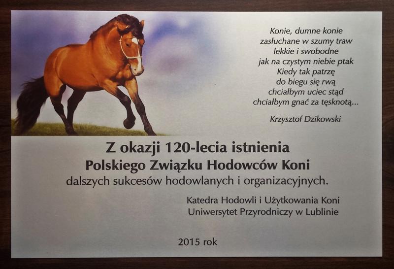 List gratulacyjny UP Lublin