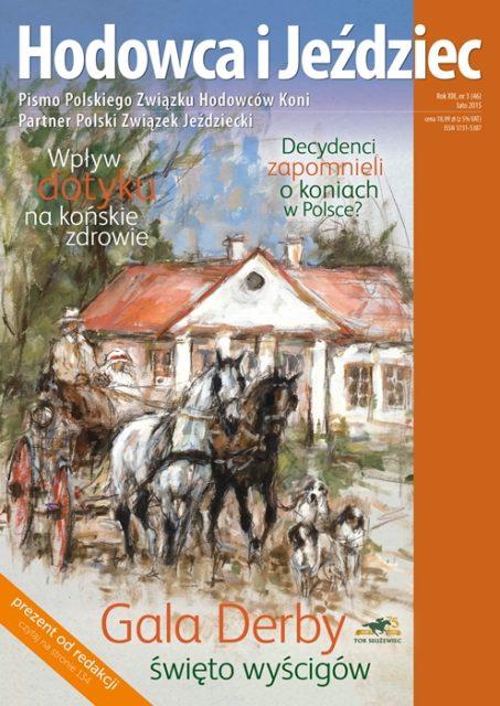 Hodowca iJeździec nr46 | Jesień 2015, Rok XIII Nr3