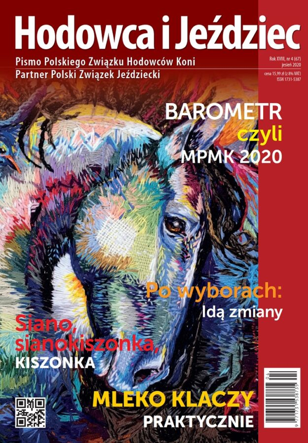 Hodowca i Jeździec nr 67 | Jesień 2020, Rok XVIII Nr 4
