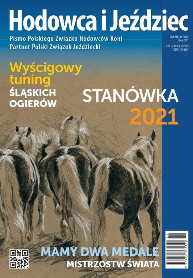 Hodowca i Jeździec nr 68 | Zima 2021, Rok XIX Nr 1