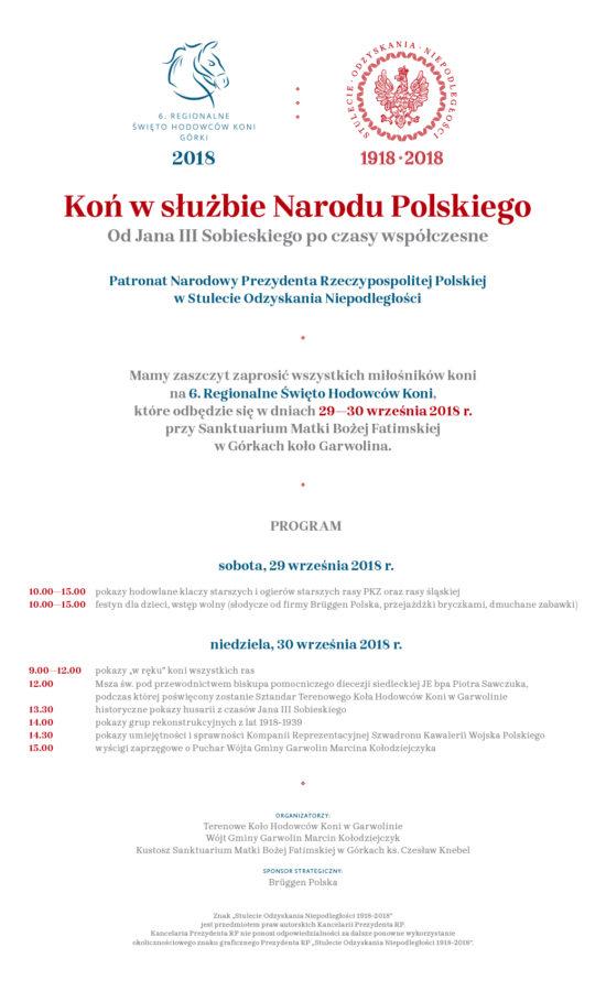 Koń wsłużbie Narodu Polskiego - plakat