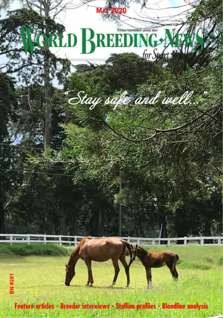 Breeding News for Sport Horses - 05.2020