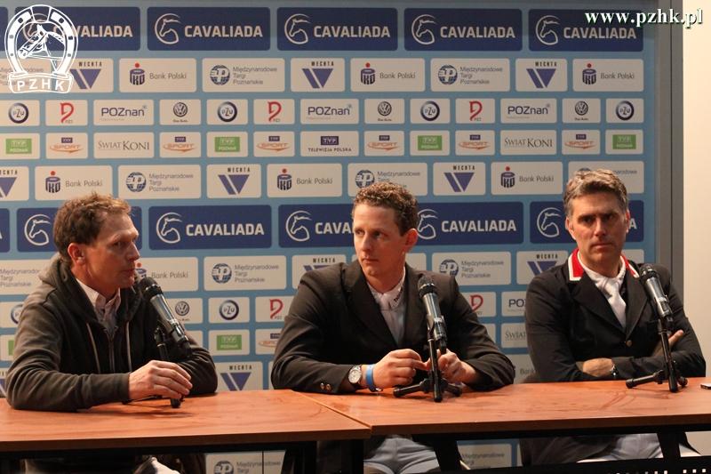 Konferencja prasowa - zwycięzcy GP