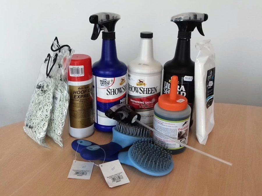 Część produktów odnaszych sponsorów